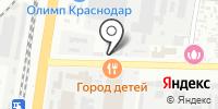 Хамелеон на карте