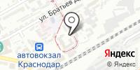 Комендатура военных сообщений железнодорожного участка на карте
