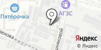 Полинэт на карте