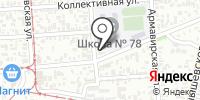 Лиар на карте