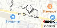 Маюр на карте