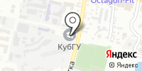 Предгорье на карте