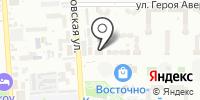 Восточное на карте