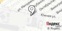 ПМ-Юг на карте