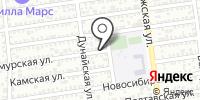 Ант-Дент на карте