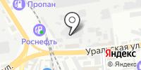 Югпечи на карте