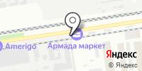 Глосс на карте