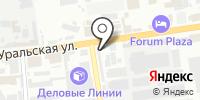 Мириада на карте