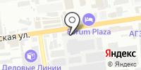 Ровен-Краснодар на карте