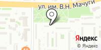 Дент на карте