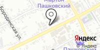 Атон на карте