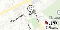 Пашковский на карте