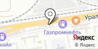 Семицветик на карте