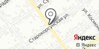 Любава на карте
