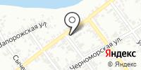 Белокаменка на карте