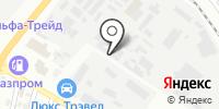 Изделмет на карте