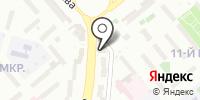 Амиталь на карте