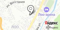 Звёздочка на карте