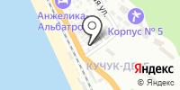 Аргамак на карте