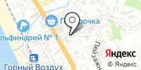 Сюзанна на карте