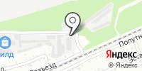 Югсиб на карте