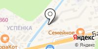Благородная на карте