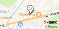 Уюттекс на карте