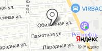 Цезарь на карте