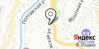 Восточная лепешка на карте