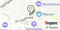 Роза Ветров на карте