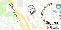 Ямаха-Сочи на карте