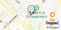 Парикмахерская на Театральной на карте