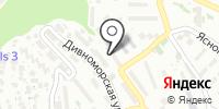 Олдак на карте