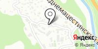 Служба охраны на Кавказе на карте