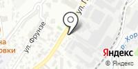 КСК Юг на карте