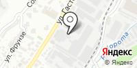 Строительный магазин на карте