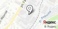 Автомойка на Гастелло на карте