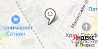Содэко на карте