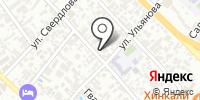 Цирюльник на карте