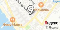 В Ажуре на карте