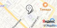 Средняя общеобразовательная школа №25 на карте