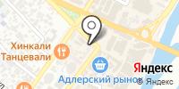 Лайнер на карте