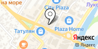 Телеспутник на карте