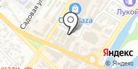 Барбарис на карте