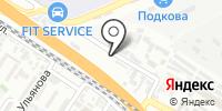 Фавор на карте