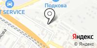 Автотранспортник на карте