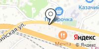 Инга на карте