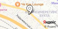 На Каспийской на карте