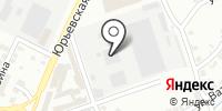 Грузовая мойка на Юрьевской на карте