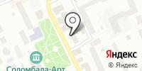 Соломбальский районный суд на карте